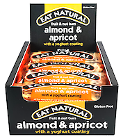 Product image of Almond & Apricot With A Yoghurt Coating Fruit & Nut Bar by Eat Natural
