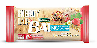 Product image of Bakalland Healthy Snack Bar - No Added Sugar: Strawberry & Quinoa by Bakalland