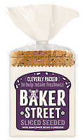Product image of Bread with sunflower seeds & linseeds (Sliced) by Baker Street