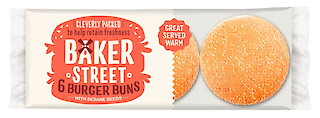 Product image of Burger Buns (Seeded) by Baker Street