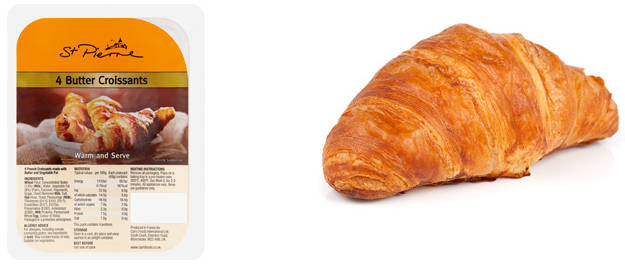 Product image of Butter Croissants by St. Pierre