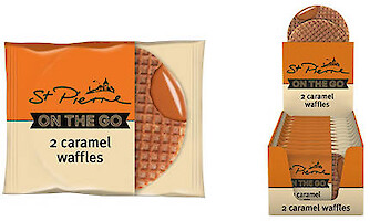 Product image of Caramel Waffles by St. Pierre