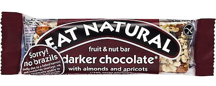 Product image of Darker Chocolate with Almonds & Apricots Fruit & Nut Bar by Eat Natural
