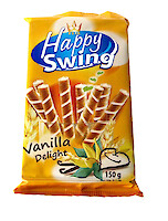 Product image of Happy Swing Vanilla Filled Roll by Flis