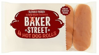 Product image of Hot Dog Rolls by Baker Street