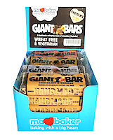Product image of Giant bars mix chocolate topped by Ma Baker