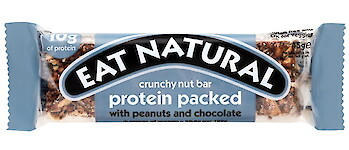 Product image of Protein Packed Nut Bar with Peanuts & Chocolate by Eat Natural