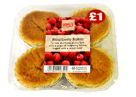 Product image of Raspberry Bakes by Pearl's Cafe