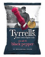 Product image of Sea Salt and Black-Pepper by Tyrrell's