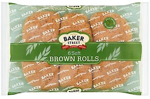 Product image of Soft Brown Rolls by Baker Street