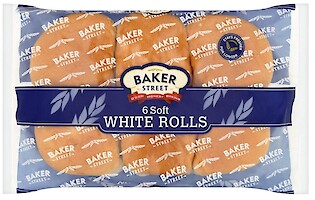 Product image of Soft White Rolls by Baker Street