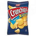 Product image of Crunchips X-Cut Salted by Lorenz