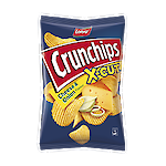 Product image of Crunchips X-Cut Cheese & Onion by Lorenz