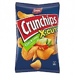 Product image of Crunchips X-Cut Chilli & Lime by Lorenz